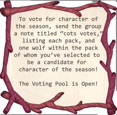Voting Pool Is Open by Loreleaa