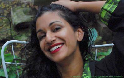 She smiles too. by Saledin