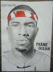 Frank Ocean Drawing by JerryHamilton15