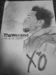 The Weeknd Drawing by JerryHamilton15