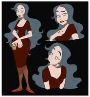 Pretty Lady by PaperChabbit