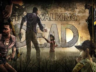 The Walking Dead: A Wallpaper by kinseypersson