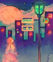 Sea Lights by Hoshi-Pan
