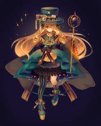 Clockworks   +Speedpaint by Hoshi-Pan