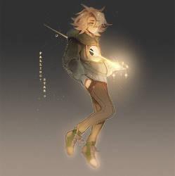 Falling Star by Hoshi-Pan