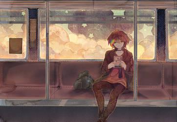 Night Trip! by Hoshi-Pan