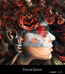 Fractal Queen by PabloAkbal