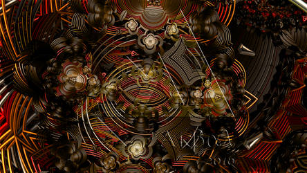 Cosmic clock machinery by PabloAkbal