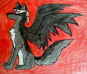 Deviant Cringe Fanart (With Background) by Sketchophrenia