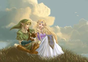Zelda - Tell Me The Story by Aerawen-Vanhouten