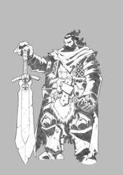 Longinus (Character design) by DiegoLlorente