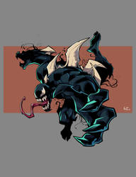 Venom [Commission] by DiegoLlorente