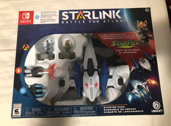Starlink: Battle for Atlas - Star Fox Switch by DestinyDecade