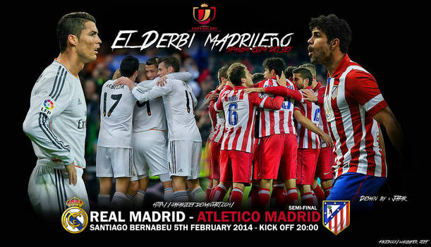 Real Madrid - Atletico Madrid by jafarjeef