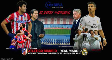 Atletico Madrid - Real Madrid by jafarjeef