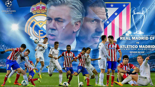 Real Madrid - Atletico Madrid Champions League by jafarjeef