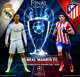 Real Madrid - Atletico Madrid 2014 by jafarjeef