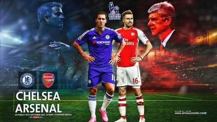 Chelsea - Arsenal wallpaper by jafarjeef