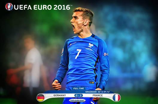 Germany 0 v 2 France - Semi Final UEFA Euro 2016 by jafarjeef