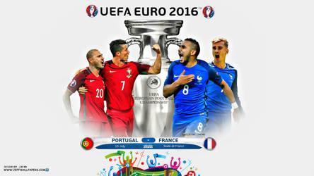 EURO 2016 FINAL by jafarjeef