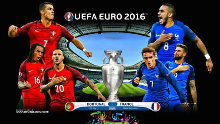 PORTUGAL - FRANCE EURO 2016 FINAL by jafarjeef