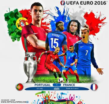 EURO 2016 FINAL WALLPAPER by jafarjeef