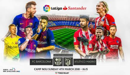 FC BARCELONA - ATLETICO MADRID by jafarjeef