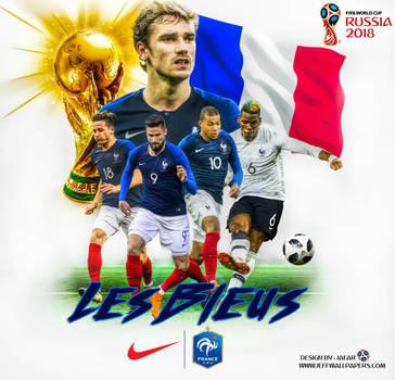 FRANCE WORLD CUP 2018 by jafarjeef