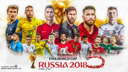 WORLD CUP 2018 WALLPAPER by jafarjeef