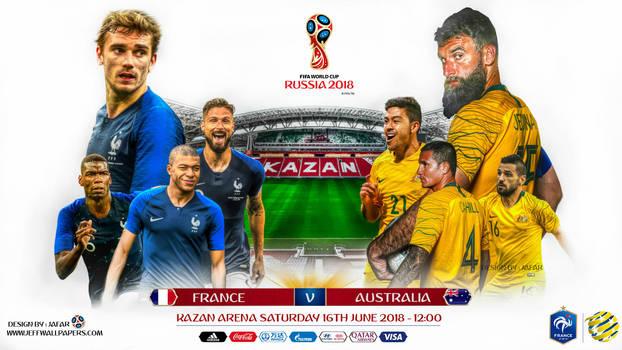 FRANCE - AUSTRALIA WORLD CUP 2018 by jafarjeef