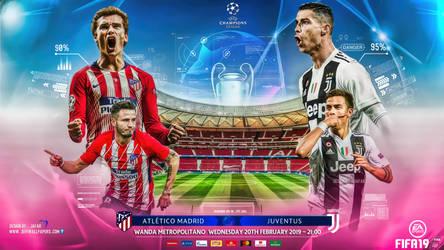 ATLETICO MADRID - JUVENTUS CHAMPIONS LEAGUE 2019 by jafarjeef