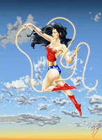 Wonder Woman by TadeoMendoza