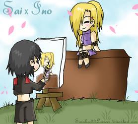 Naruto :: Sai x Ino by sasukee23loveeer