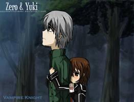 Vampire Knight :: Zero x Yuki by sasukee23loveeer