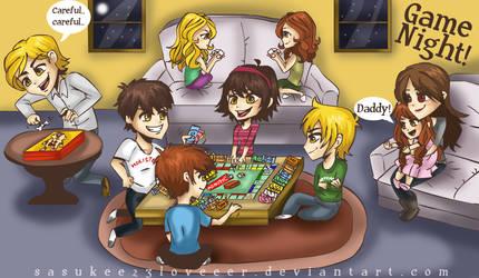 Twilight :: Game Night by sasukee23loveeer