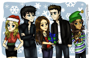 Vampire Diaries :: Christmas by sasukee23loveeer