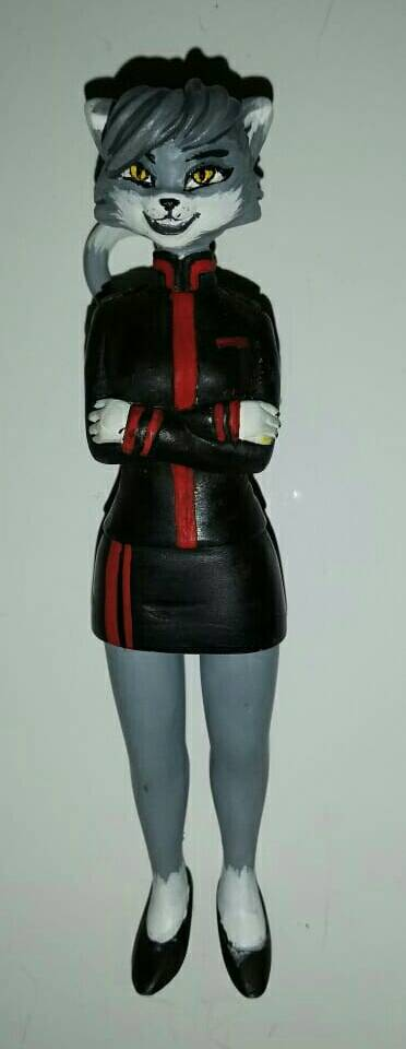 Uniform Cat - 2 by josuewws