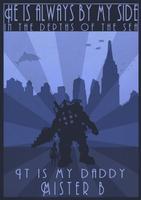 Bioshock Poster by JoTheWeirdo