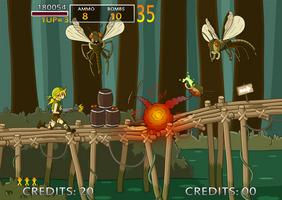 Metal Slug project: in-game shot by JoTheWeirdo