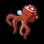 Sleepy Octopus by JoTheWeirdo