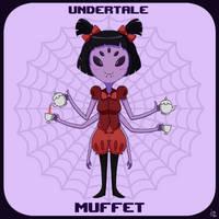 Undertale: Muffet by JoTheWeirdo