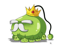 Maplestory #5: King Slime Redesign by JoTheWeirdo