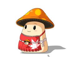 Maplestory #6: Mushmom (redesign) by JoTheWeirdo