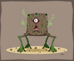 Maplestory Fusion: Stump + Cursed Eye by JoTheWeirdo