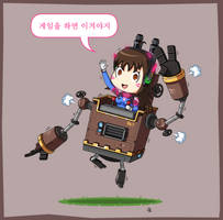 Dva The Mechanic by JoTheWeirdo