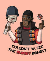 Team Fortress 2: T-Shirt design by JoTheWeirdo