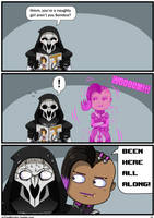 Overwatch Comic: Been here all along! by JoTheWeirdo