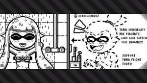 Splatoon 2: Flight Vs Invisibility by JoTheWeirdo
