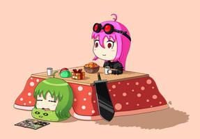 Together under the kotatsu by JoTheWeirdo