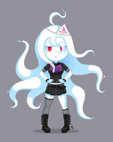 Metal Ghost Girl by JoTheWeirdo